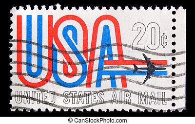 Vintage postage stamp - UNITED STATES - CIRCA 1984 , image...