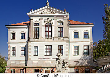 Museum of Frederick Chopin. - Baroque palace in Warsaw.....