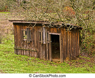 Old Wooden Building - Another outbuilding on the farm...