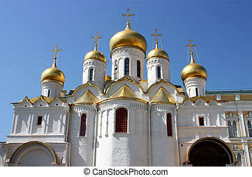 Russian church - Russian church in Moscow Kremlin,...