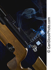 smoking gun - gun smoking hot that's designed for...