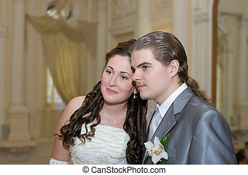 groom with the bride
