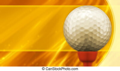 Golf Background Loop - Looping Golf Animated Background