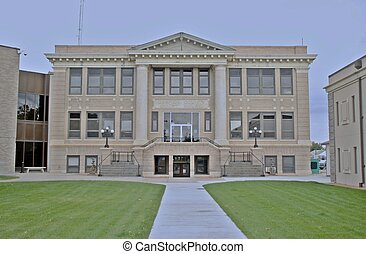 Court House - A County Court House in Wyoming