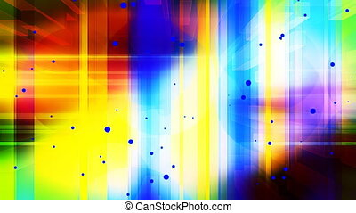 Bright Colored Abstract Loop