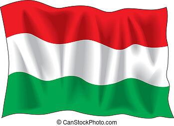 Húngaro, bandeira
