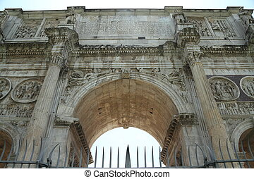 Arch of Constantine - A triumphal arch built to honor...