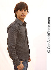 young indian male model