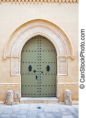 old town house doorway - The old town house doorway at...