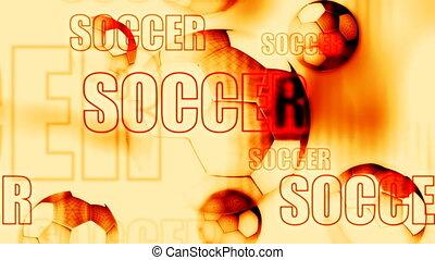 Soccer Backdrop Loop