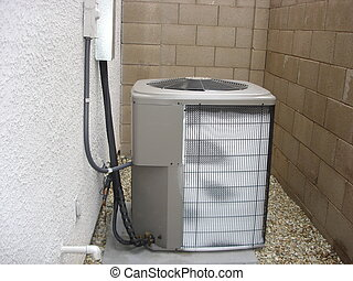 Frosted Heat Pump - Malfunctioning Heat Pump covered with...