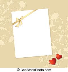 Letter Valentine