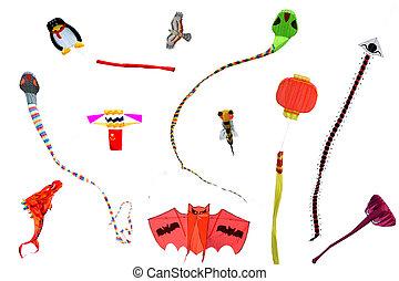 Kite Collection - Taken on Chinas Hainan Island, where a...