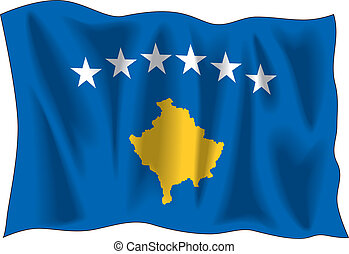 Flag of Kosovo in Vectors
