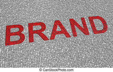 Brand word - Part of a series of business concepts
