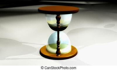 Hourglass Looping Background - Looping Hourglass Time...