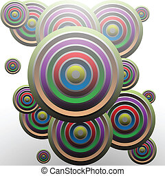 Abstract Circle - Illustration of abstract circles as a...