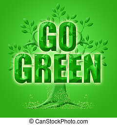 Go Green with Eco Tree and Planet