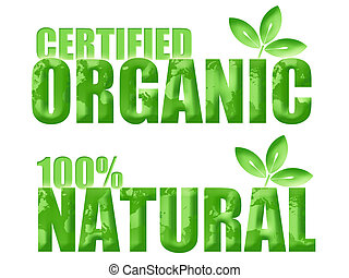 Certified Organic and Natural Symbols - Certified Organic...
