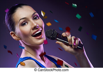 singing girl