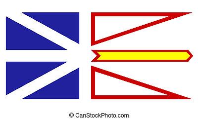 Newfoundland, labrador, vlag