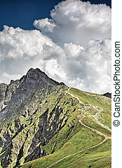 Beautiful mountain - Tatras. - National park - ecological...