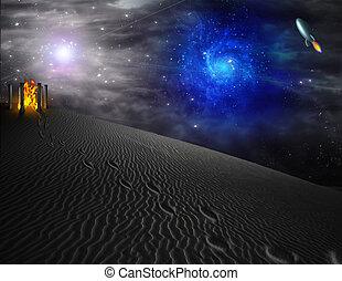 Alien World - Journey in Alien World