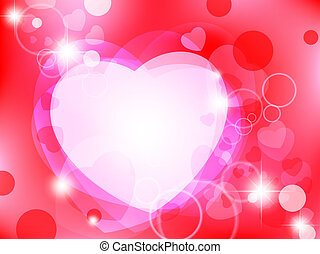 Valentine`s day abstract background