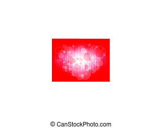 valentine background - bright valentine background with...