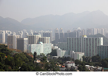 Hong Kong New Territories Residential District