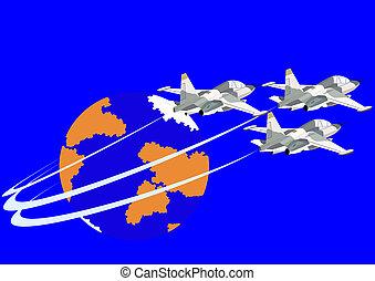Fighter flight deck aircraft
