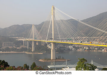 Ting Kau Bridge, Hong Kong