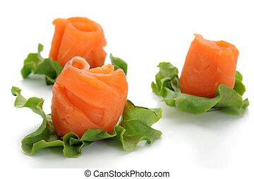 Smocked Salmon Snacks
