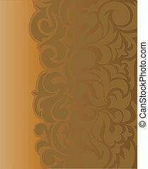 brown asymmetrical background