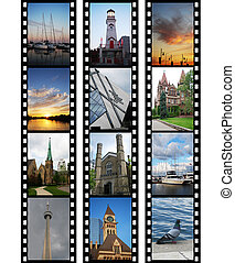 Films with travel photos