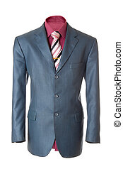 Business jacket #7   Isolated - Empty light colored office...