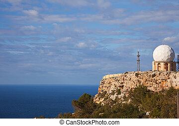 Dingli Radar at Malta