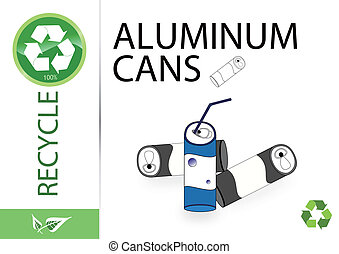 Please recycle aluminum cans