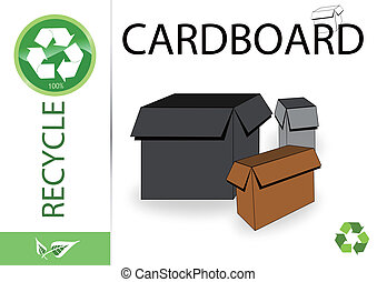 Please recycle cardboard