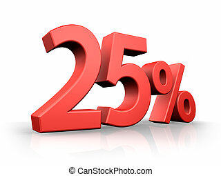 Red Twenty Five Percent
