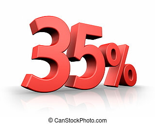 Red Thirty Five Percent