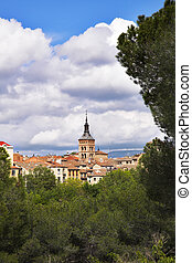 The ancient city of Segovia