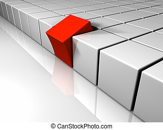 Different One Cube