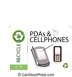 Please recycle pdas & cellphones