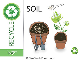 Please recycle soil