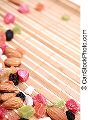 Dried fruits and nuts collection