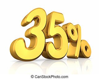 Gold Thirty Five Percent