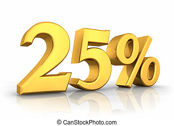 Gold Twenty Five Percent - Gold twenty five percent,...