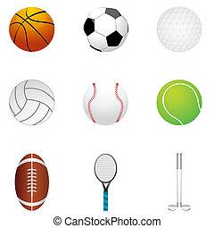 differnt balls