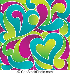 Love Graphics - Pop art love vector painting